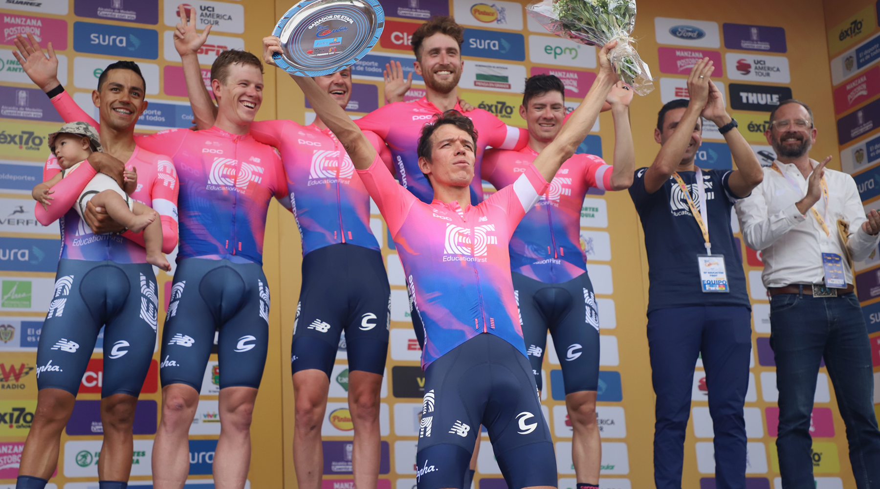 Amp Human and EF Education First Pro Cycling Team Announce Partnership