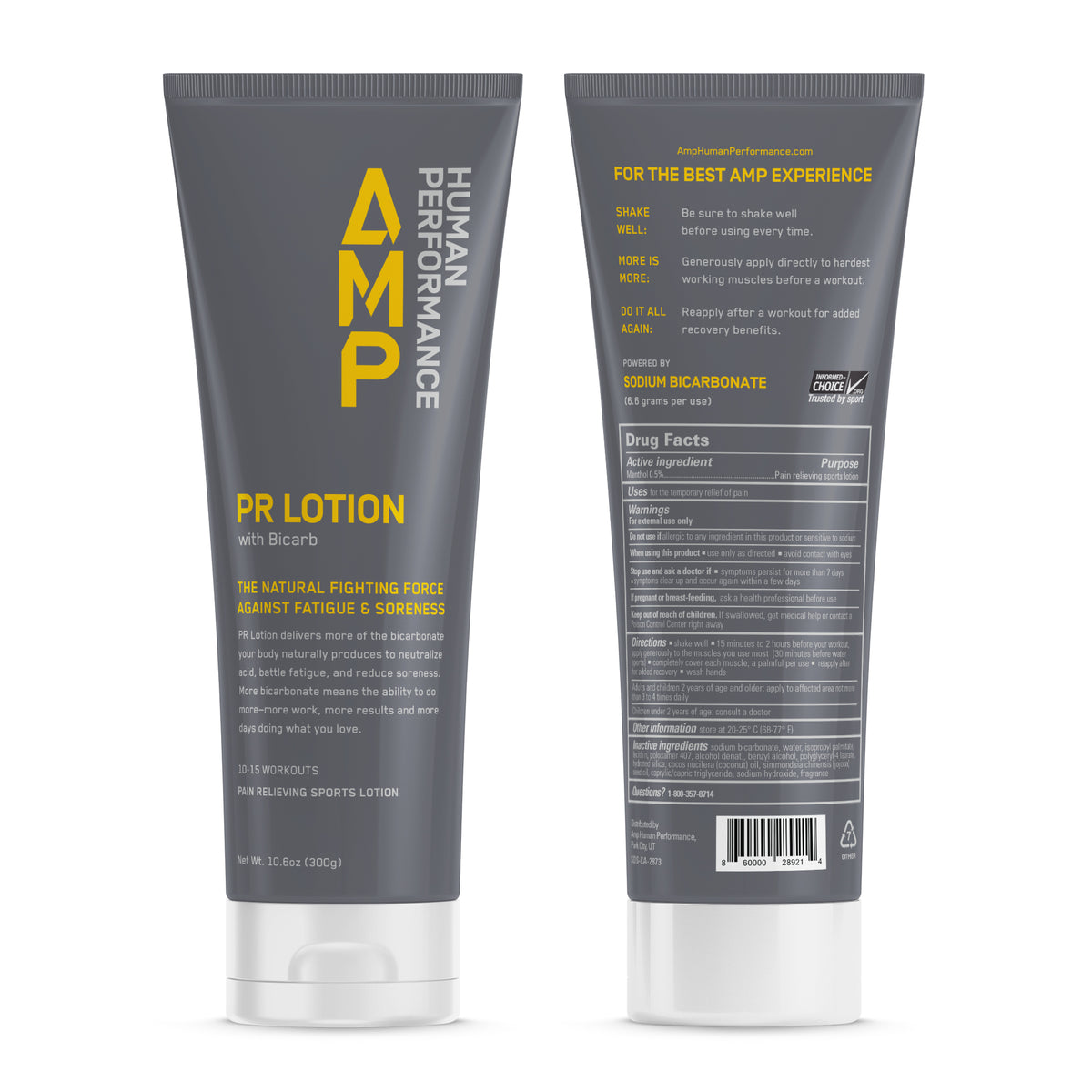 PR Lotion Packages