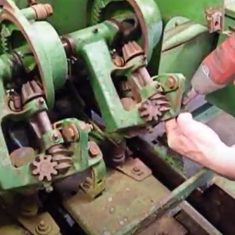 Video Instructions! How to remove knotters from a John Deere 336, 346, 327, 337, 347 Square Baler