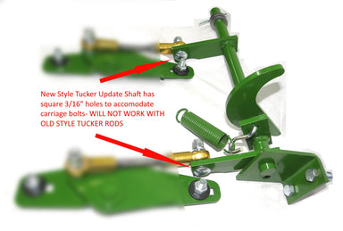 Updated New Style Tucker Shaft for John Deere Models 336, 346