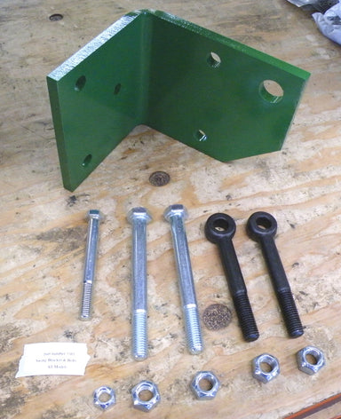 Swing Hitch Bracket & Bolt for Tongue Positioning Cylinder for John Deere Square Balers