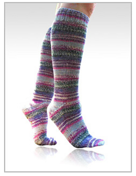 Toe up magic loop socks - 2 at a time