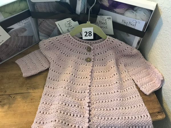 kit 28 -Sunday Baby Sweater