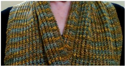 Introduction to Brioche #1 - Scarf