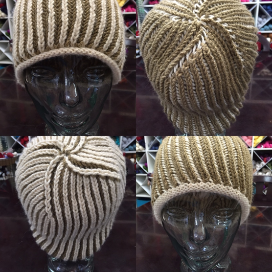 Let's Learn Brioche - Lesson 2 - Two Color Hat