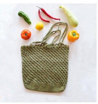 kit 80 -  Crocheted Market Bag (Earth Day Special Kit)
