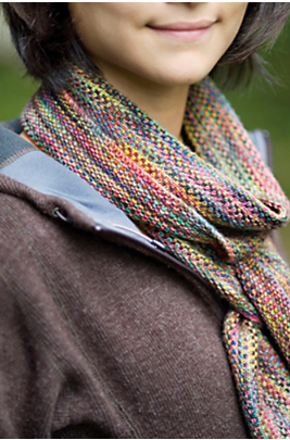 Churchmouse Linen Stitch Scarf