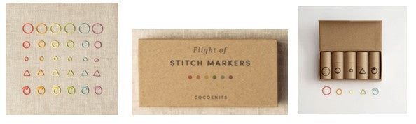 Cocoknits Flight of Stitchmarkers