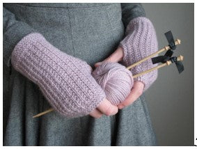 Learn to Knit Fingerless Gloves