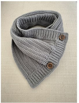 Crocheted Herringbone Cowl