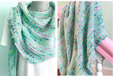 Breathe and Hope Shawl Kit by Casapinka