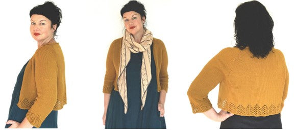 2021 FIRST Knit-A-long Featuring the Ochre Cardigan
