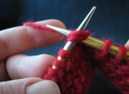 Continental Knitting or Picking for Throwers