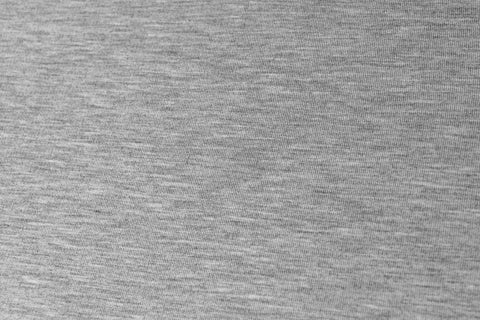 Bamboo Blend Fleece – Grey mix