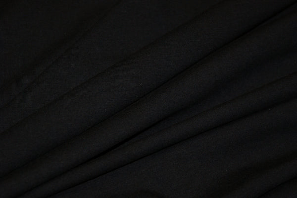 Organic Jersey Solid - Black