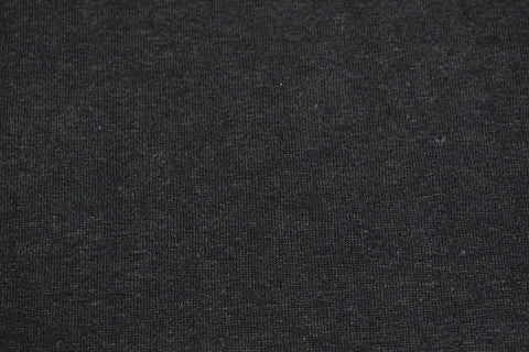 Hemp blend fleece - Black