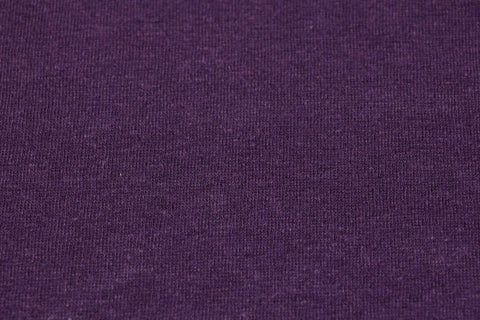 Hemp blend fleece - Plum