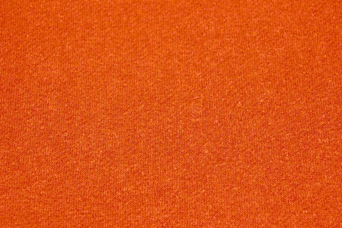 Hemp blend fleece - Tangerine