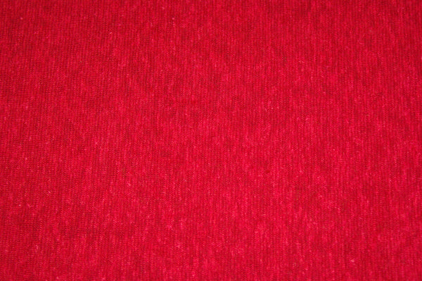 Hemp/Organic Cotton Jersey - Red