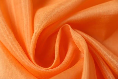 Silk/Cotton Voile – Apricot