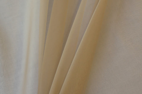 Silk Organza – Almond