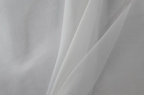 Silk Organza – White
