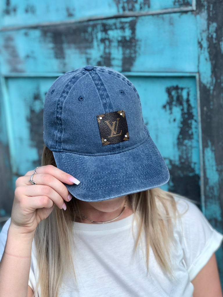 LV Patch Denim Hat