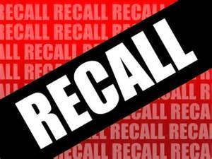 Recalls:  Cruiser RV / Heartland RV / Forest River / KZRV / REV / Thor Motor Coach