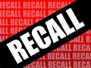 Recalls by NHTSA
