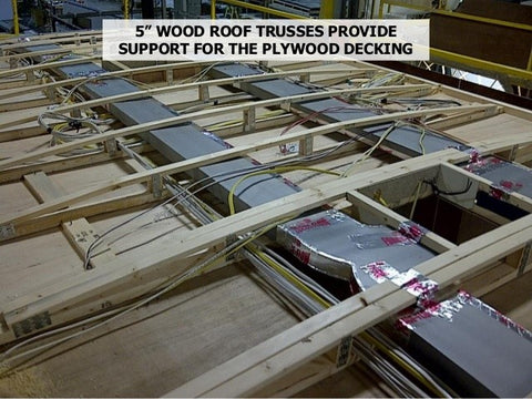 This Wood Trussed Trailer May Work Well If The Overall Workmanship Is Good  And The Materials Are Well Chosen. But Notice That The Wood Used Has Many  ...