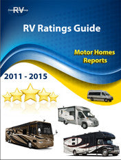 RV Consumer Ratings Reports for Motorhomes for Years 2011-2015.  Downloadable/Printable E-book v20.2