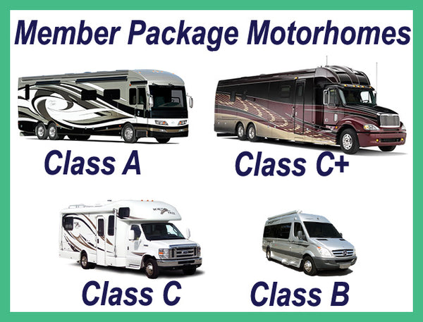 Join our membership and get everything you need to know about RVs. Package includes over 6,000 Motorhome Rating Reports (2011-2020) plus 3 Best-Selling Books. Downloadable/Printable E-book.  No annual renewal fee - once a member, always a member.
