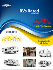 RVs Rated Towables Buying Guide for Years 2006-2010. Downloadable/Printable E-book (NOT a database).