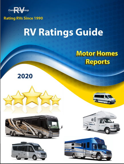 FOR MEMBERS ONLY. RV Consumer Ratings Reviews/Reports for Motorhomes for 2020.  Downloadable/Printable E-Book