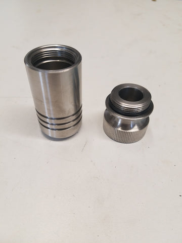 stainless steel bomb pill container