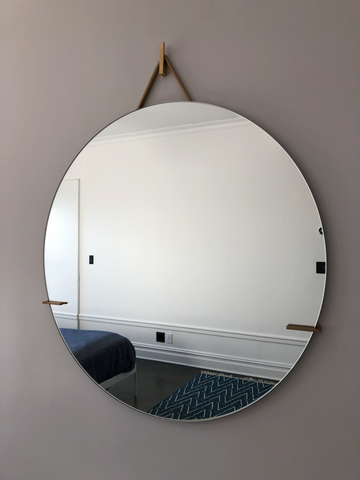 Custom mirror brackets