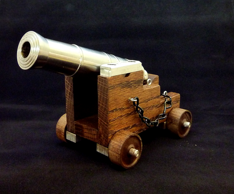 50 caliber black powder cannon