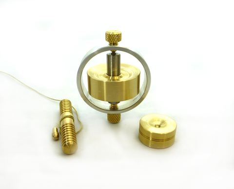 Hand machined gyroscope