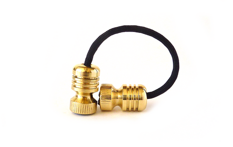 Begleri - Brass Bomber  EDC Greek worry beads fidget toy