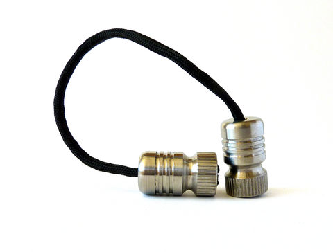 Begleri - Titanium Bomber  EDC Greek worry beads fidget toy