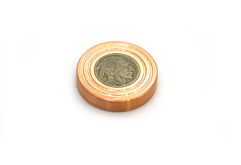Copper Buffalo Worry Coin