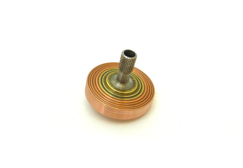 Top 1902 -  Copper, Brass and Stainless Steel  - WOBBLER
