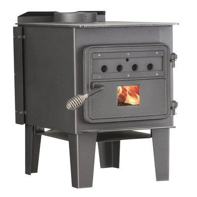 Vogelzang 68,000 BTU EPA Certified Wood Stove - Iron Wood Supply