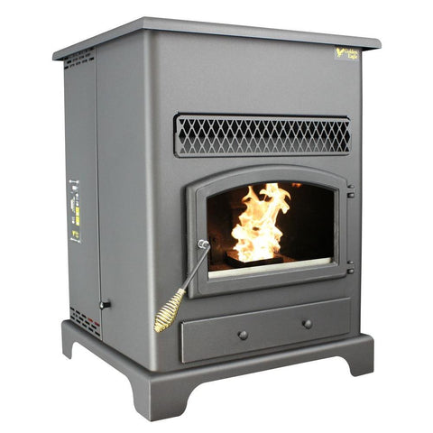 US Stove 5520 Large Pellet Heater With Ash Pan - Iron Wood Supply