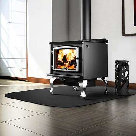 Osburn 2300 Wood Stove With Blower - Iron Wood Supply