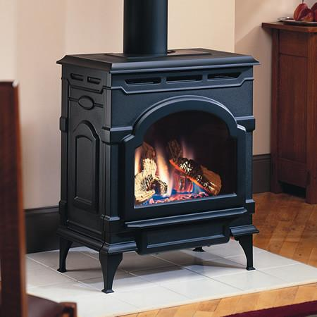 Majestic Oxford Direct Vent Gas Stove - Iron Wood Supply