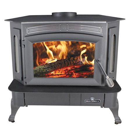 Breckwell Wood Stove With Blower - SW940 - Iron Wood Supply