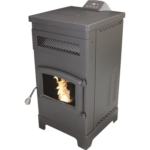 Vogelzang VG5770 Slimline Pellet Stove - Iron Wood Supply