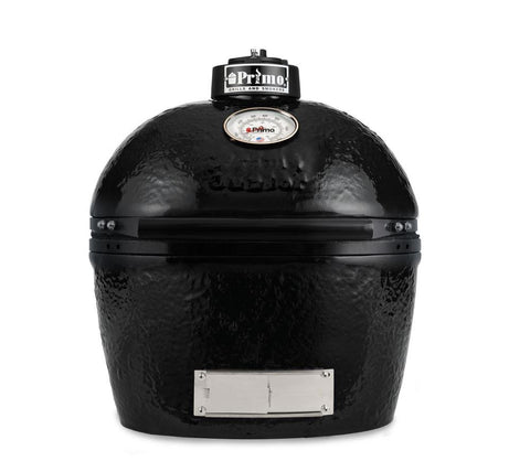 Primo PRM774 Oval JR 200 Ceramic Smoker Grill - Iron Wood Supply