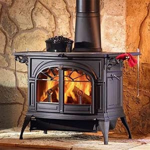 Vermont Casting Defiant Flex Burn Catalytic/ Non-Catalytic Wood Stove - Classic Black - Iron Wood Supply